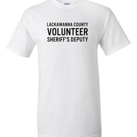 Lackawanna County Volunteer Sheriff's Deputy T-Shirt