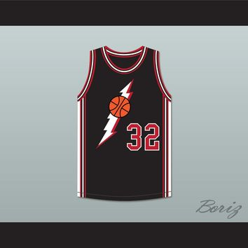 Orlando 32 Black Basketball Jersey In the House