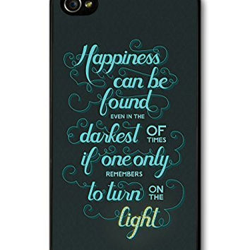Harry Potter Happiness Case for iPhone 4S 5 5S 5C 6 6S Touch Plus Samsung Galaxy S3 S4 S5 Mini S6 Edge A3 A5 A7 Note 2 3 4 5