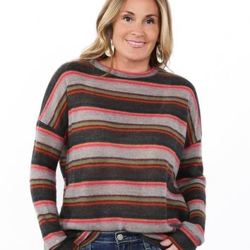 Bright Striped Sweater