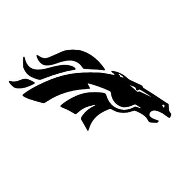 Car- stying Denver Broncos Creative Vinyl Car-Styling Car Fine decals can be attached to any plane Jdm