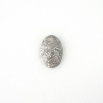 Fossil Coral Oval Cabochon, 22x32mm, Undrilled Stone, Stone Supply