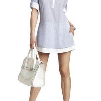 BCBG Kelci Long-Sleeve Shirt Dress