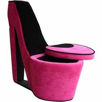 High Heels Storage Chair, Multiple Colors - Walmart.com