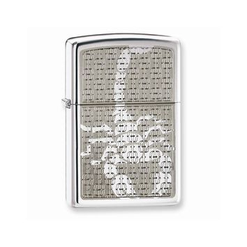 Zippo Scorpion High Polish Chrome Lighter - Engravable Personalized Gift Item