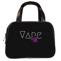 Vape Life Black Classic Handbag (Two Sides)