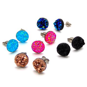 Supernova Earrings: Set of 5