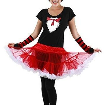 Dr. Seuss The Cat in the Hat Womens Costume