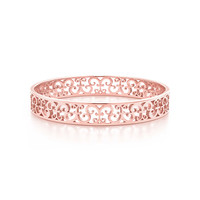 Tiffany & Co. - Tiffany Enchant® narrow bangle in RUBEDO® metal, medium.