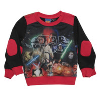 Star Wars Characters Sublimation Toddler Crew Pullover