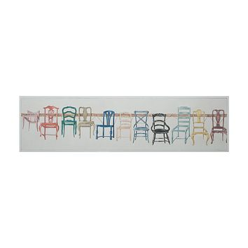 Chair Display - Handpainted Art On Canvas