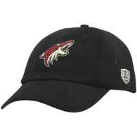 Old Time Hockey Arizona Coyotes Netminder Adjustable Slouch Hat - Black