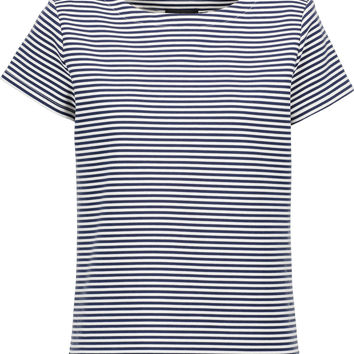 Laveneg striped cotton-blend T-shirt | Theory | US | THE OUTNET
