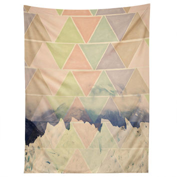 Maybe Sparrow Photography Geometric Alaska Tapestry