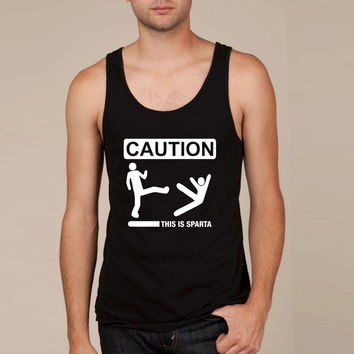 CAUTION... THIS IS SPARTA! Tank Top
