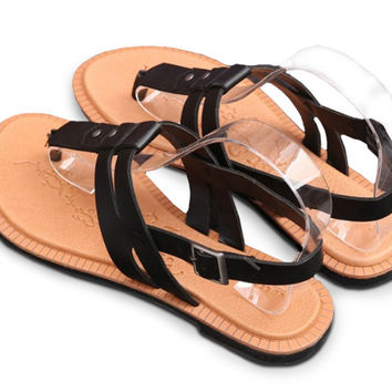 Women's Casual Gladiator Flat Sandals