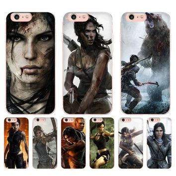 MaiYaCa rise of the tomb raider wallpaper Newest Super Cute Phone Cases for iPhone X 6 6S 7 7plus 8 8Plus 5 5S