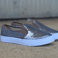 Boat Shoe by Fab Kicks {Pewter}