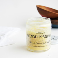 Natural Beeswax Wood Preserver