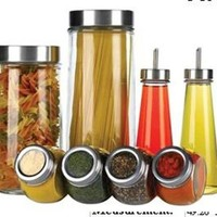 Crystal Clear Stylesetter 8-Piece Kitchen Storage Set