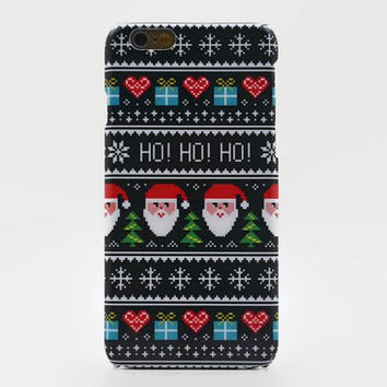 Christmas gift iPhone 6 case Christmas gift iphone 6 plus case Christmas iPhone 5S case Xmas Samsung galaxy s6 case Samsung Galaxy S4 case