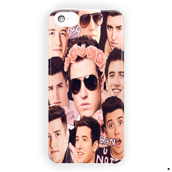 Logan Henderson Big Time Rush Collage For iPhone 5 / 5S / 5C Case
