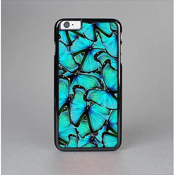 The Turquoise Butterfly Bundle Skin-Sert for the Apple iPhone 6 Plus Skin-Sert Case