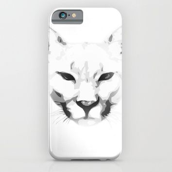 Mountain Cat iPhone & iPod Case by Brittany