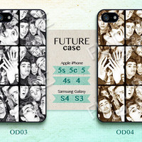 One Direction iPhone 4s case One Direction Pop Star idol iPhone case iphone 4 case iphone 4s case iphone 5 case Hard or Soft Case-OD04