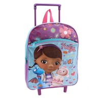Disney's Doc McStuffins ''Hugs Are On the Way'' Rolling Backpack - Kids (Purple)