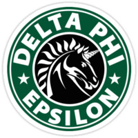 Delta Phi Epsilon Starbucks by Jessica -