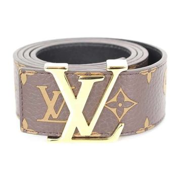 SUPREME LOUISVUITTON 17AWLV Initiales 40 MM Belt Monogram belt (9036 ) (20280