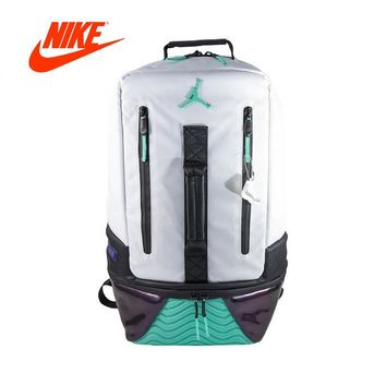 Original Authentic Nike Air Jordan 11 BackPack AJ11 School Bag Sport Outdoor Sports City Jogging Bags Travel Designer 9A1971-W51
