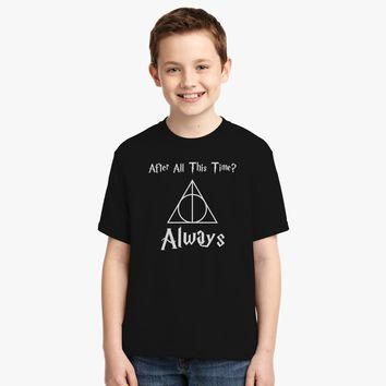 After All This Time Always Severus Snape Cool Youth T-shirt