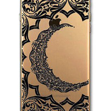 """Crescent Moon"" iPhone Case"