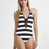 Laced One-Piece