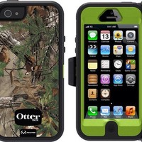 iPhone 5 OtterBox Defender Series Case-Realtree Xtra Green-NEW CAMO!-Retail Pack