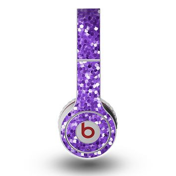The Purple Shaded Sequence Skin for the Original Beats by Dre Wireless Headphones