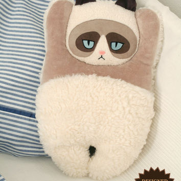 Grumpy Cat heating pillow (cover)