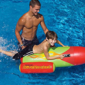 Swimming Pool Inflatable Dive Rocket - Inflatable