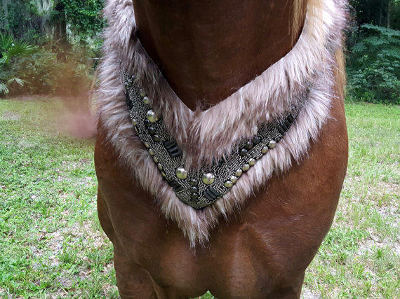 Fur And Armor Equine Necklace / Breast From MyBuddyBling
