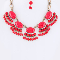 Maracas Bib Necklace