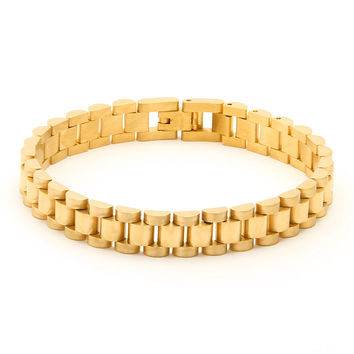 Gold Rolex Watch Link 10MM Stainless Steel Bracelet