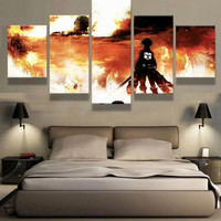 Attack On Titan Wall Canvas Set