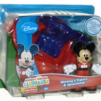 Fisher-Price Mickey Mouse Clubhouse Mickey's Moon Buggy Vehicle