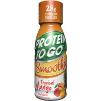Walmart: Protein to Go Tropical Mango Smoothie Protein Shot, 2.5 fl oz, 24 count