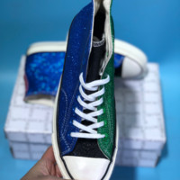 DCCK Vince Staples X Chuck 1970 Converse All Star Skate Shoes Blue Green