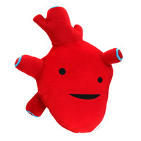 Humongous Heart Plush - I Got The Beat!