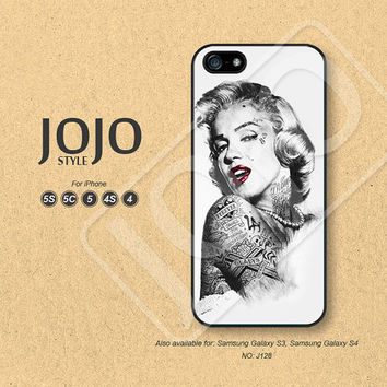 Marilyn Monroe iPhne Case iPhone 5s Case iPhone 5c Case iPhone 4 Case iPhone 4s Case Phone Cases Phone Covers - J128