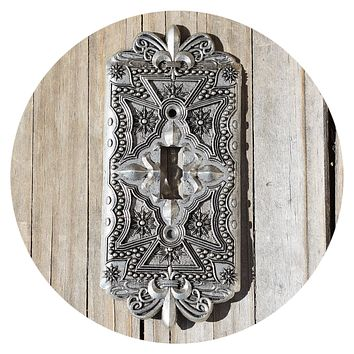 2005 Comstock Pewter Light Switch Cover